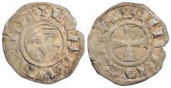 World Coins - CRUSADERS Antioch  Bohemund III, Minority 1149-1163 Denier   EF