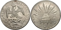 World Coins - MEXICO: 1895 GO RS 8 Reales