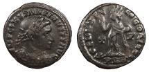 Ancient Coins - Constantine I 307-337 A.D. Follis Londinium Mint Near VF