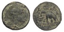 Ancient Coins - Seleukid Kings Alexander I Balas 150-145 BC AE15 Near VF