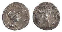 Ancient Coins - Graeco-Baktrian Menander I 165/155-130 BC Drachm Good VF