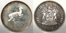 SOUTH AFRICA: 1975 Proof - Mintage 18,000 Rand