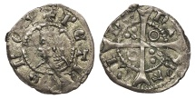 World Coins - SPAIN Catalonia (Catalunya) Pedro III (Pere III) 1387-1396 Dinero Choice EF