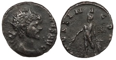 Ancient Coins - Quintillus 270 A.D. Antoninianus Rome Mint Near VF