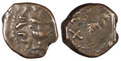 Ancient Coins - Judaea First Jewish War 66-70 A.D. Prutah Good Fine