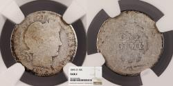 Us Coins - 1895-O Barber 10 Cents (Dime) NGC FR-2