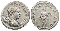 Ancient Coins - Elagabalus 218-222 A.D. Antoninianus Rome Mint Near EF