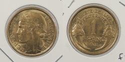 World Coins - FRANCE: 1932 Franc