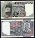 World Coins - ITALY Banca d'Italia 6 September 1980 10000 Lire EF