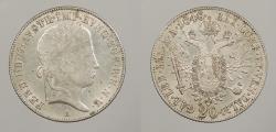 World Coins - AUSTRIA: 1848-A 20 Kreuzer
