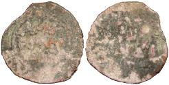Ancient Coins - Great Mongols (Chingizids) Mas'ud al-Khwarismi, governor at Karakorum AH638-667 (1240-1269 A.D.) Broad fals (Kashghar mint) Fine