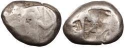 Ancient Coins - Achaemenid Kings Time of Artaxerxes I to Darius III c. 450-340 B.C. Siglos Fair