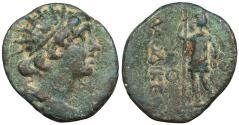 Ancient Coins - Syria Seleukis and Pieria Laodicea Pseudo-Autonomous issue c. 1st Century A.D. AE20 VF