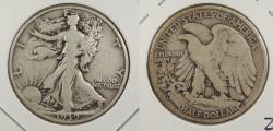 Us Coins - 1939-S Walking Liberty 50 Cents (Half Dollar)