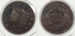 Us Coins - 1832 Matron Head 1 Cent Large letters