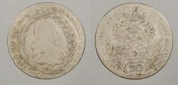 World Coins - AUSTRIA: 1778 20 Kreuzer