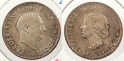 World Coins - DENMARK: 1958 2 Kroner