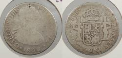 World Coins - MEXICO: 1808-Mo TH Charles IV 2 Reales