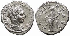 Ancient Coins - Severus Alexander 222-235 A.D. Denarius Antioch Mint EF