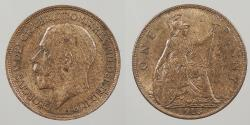 World Coins - GREAT BRITAIN: 1913 Penny