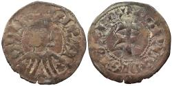 World Coins - SPAIN Aragon Pere III (Pedro IV de Aragon) 1336-1387 Dinero (Diner) VF