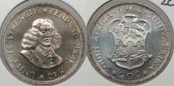 World Coins - SOUTH AFRICA: 1964 20 Cents Proof
