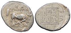 Ancient Coins - Illyria Dyrrhachion Xenon, magistrate c. 250-200 B.C. Drachm VF