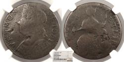 Us Coins - 1786 Vermont Copper Colonial Coinage Bust Left; RR-11; Bressett 9-H; W-2050 NGC Fine