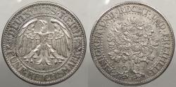 World Coins - GERMANY: Weimar Republic 1932-J 5 Reichsmark