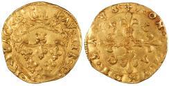 World Coins - ITALIAN STATES Papal States Pope Paul III 1534-1549 Scudo d'Oro (Scudo Riccio) EF