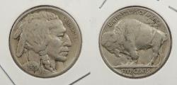 Us Coins - 1920-S Buffalo 5 Cent (Nickel)