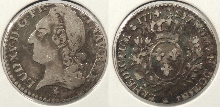 World Coins - FRANCE: 1774 12 Sols