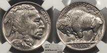Us Coins - 1927 Buffalo 5 Cent (Nickel) NGC MS-63