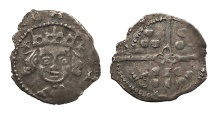 World Coins - IRELAND   Edward IV 1461-1483 Penny  Near EF