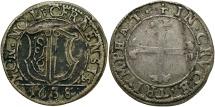 World Coins - SWISS CANTONS: Luzern 1638 1 Batzen