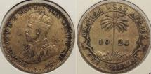 World Coins - BRITISH WEST AFRICA: 1924 Shilling