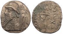 Ancient Coins - Elymais Kamnaskires VI 46-28 B.C. Tetradrachm Good VF