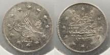 World Coins - TURKEY: AH1293 Y16 (1891-1892) Kurush