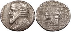 Ancient Coins - Parthia Gotarzes II 40-51 A.D. Tetradrachm VF