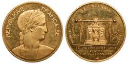 World Coins - FRANCE Paris Mint. by BRENET F. & DENON D. 1955 AV 23mm Medal UNC