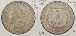 Us Coins - 1878 Morgan 1 Dollar (Silver) Doubled cotton balls; Triple R; Doubled P