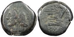 Ancient Coins - Q. Marcius Libo 148 B.C. As Rome Mint Good Fine