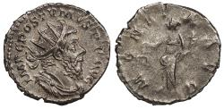 Ancient Coins - Postumus 259-268 A.D. Antoninianus Lugdunum Mint EF Ex. Sol Goldman collection.