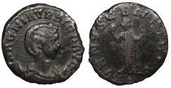 Ancient Coins - Magnia Urbica, wife of Carinus 283-285 A.D. Antoninianus Lugdunum Mint Fine Ex David Bailey collection.