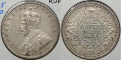 World Coins - INDIA: 1918(b) George V Rupee