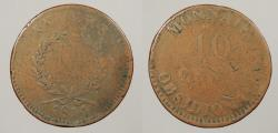World Coins - FRANCE: Antwerp 1814 Siege Coinage. 10 Centimes