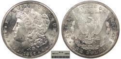 Us Coins - 1897 S Morgan 1 Dollar (Silver) ANACS MS-63