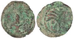 Ancient Coins - Judaea Roman Procurators Coponius, under Augustus 6-9 A.D. Prutah About Fine