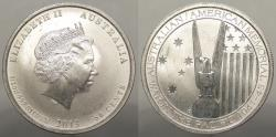 World Coins - AUSTRALIA: 2013 1/2 Oz .999; War in the Pacific. 50 Cent