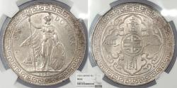 World Coins - GREAT BRITAIN Victoria 1930 Trade Dollar NGC MS-62